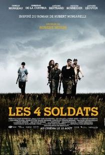Les 4 soldats - Poster / Capa / Cartaz - Oficial 1
