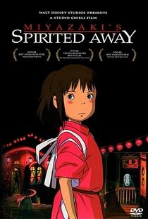 A Viagem de Chihiro - Poster / Capa / Cartaz - Oficial 1