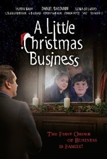 A Little Christmas Business - Poster / Capa / Cartaz - Oficial 1
