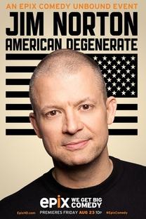 Jim Norton: American Degenerate - Poster / Capa / Cartaz - Oficial 1