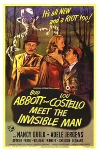 Abbott e Costello e o Homem Invisível - Poster / Capa / Cartaz - Oficial 1