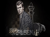 Magnus Carlsen Blind & Timed Chess Simul at the Sohn Conference in NYC - Poster / Capa / Cartaz - Oficial 1