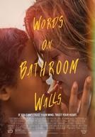 Palavras nas Paredes do Banheiro (Words on Bathroom Walls)
