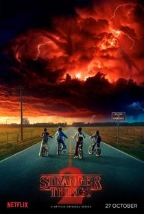 Stranger Things (2ª Temporada) - Poster / Capa / Cartaz - Oficial 2