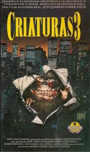 Criaturas 3 - Poster / Capa / Cartaz - Oficial 4