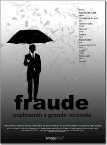 Fraude. Explicando a grande recessão - Poster / Capa / Cartaz - Oficial 1