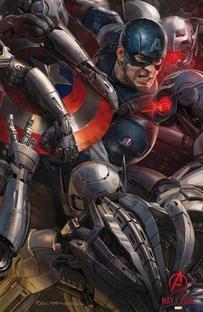 Vingadores: Era de Ultron - Poster / Capa / Cartaz - Oficial 4