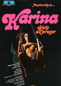 Karina, Objeto de Prazer - Poster / Capa / Cartaz - Oficial 1