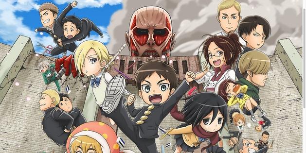 Spinoff de Ataque dos Titãs ganha anime
