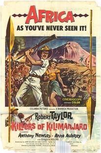 A Morte Vem do Kilimanjaro - Poster / Capa / Cartaz - Oficial 1