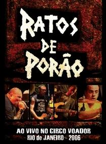 Ratos de Porão: Ao vivo no Circo Voador 2008 - Poster / Capa / Cartaz - Oficial 1