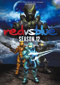 Red Vs Blue (12ª Temporada) - Poster / Capa / Cartaz - Oficial 1