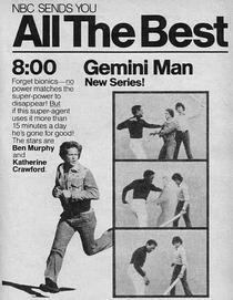 Gemini Man (1ª Temporada) - Poster / Capa / Cartaz - Oficial 3