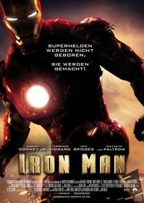 Homem de Ferro - Poster / Capa / Cartaz - Oficial 4