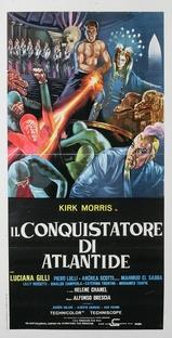 Il Conquistatore di Atlantide - Poster / Capa / Cartaz - Oficial 1