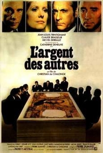 L'Argent des Autres - Poster / Capa / Cartaz - Oficial 1