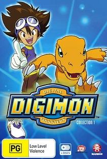 Digimon (1ª Temporada) - Poster / Capa / Cartaz - Oficial 9