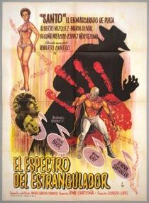 Santo Enfrenta o Fantasma Assassino - Poster / Capa / Cartaz - Oficial 2