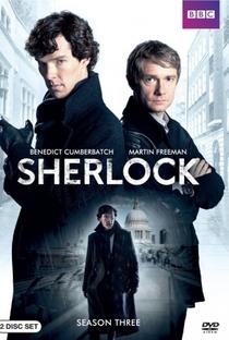 Sherlock (3ª Temporada) - Poster / Capa / Cartaz - Oficial 1