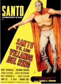 Santo el Enmascarado de Plata vs los Villanos del Ring - Poster / Capa / Cartaz - Oficial 1