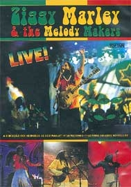 Ziggy Marley & The Melody Makers Live - Poster / Capa / Cartaz - Oficial 1