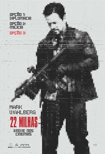 22 Milhas - Poster / Capa / Cartaz - Oficial 1
