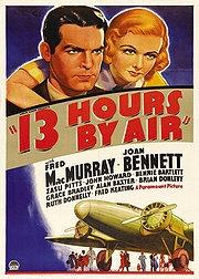 13 Horas no Ar - Poster / Capa / Cartaz - Oficial 1