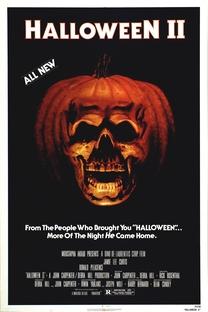Halloween 2 - O Pesadelo Continua - Poster / Capa / Cartaz - Oficial 1