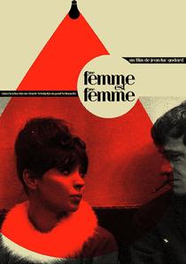 Uma Mulher é Uma Mulher - Poster / Capa / Cartaz - Oficial 5