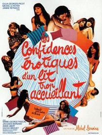 Les Confidences Érotiques d'un Lit Trop Accueillant - Poster / Capa / Cartaz - Oficial 1