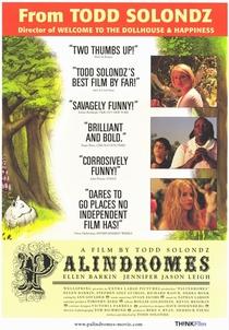 Palíndromos - Poster / Capa / Cartaz - Oficial 3