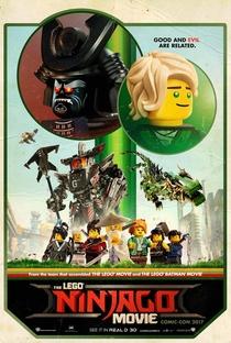 LEGO Ninjago: O Filme - Poster / Capa / Cartaz - Oficial 4