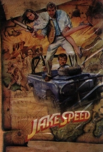 Jake Speed - Poster / Capa / Cartaz - Oficial 1