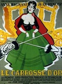 A Carruagem de Ouro - Poster / Capa / Cartaz - Oficial 5