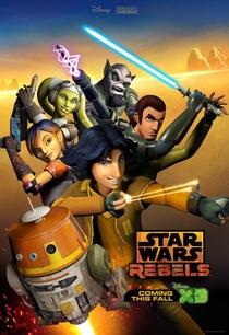 Star Wars Rebels (1ª Temporada) - Poster / Capa / Cartaz - Oficial 1