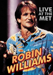 Robin Williams: Live at the Met - Poster / Capa / Cartaz - Oficial 1