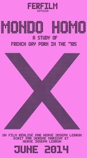 Mondo Homo 2: A Study of French Gay Porn in the 70′s - Poster / Capa / Cartaz - Oficial 1