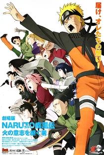 Naruto Shippuden 3: Herdeiros da Vontade de Fogo - Poster / Capa / Cartaz - Oficial 1