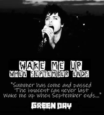 Green Day: Wake Me Up When September Ends - Poster / Capa / Cartaz - Oficial 2
