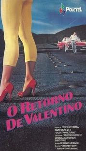 O Retorno de Valentino - Poster / Capa / Cartaz - Oficial 1