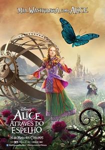 Alice Através do Espelho - Poster / Capa / Cartaz - Oficial 6