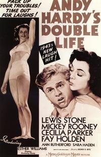 A Dupla Vida de Andy Hardy - Poster / Capa / Cartaz - Oficial 1