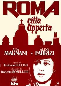Roma, Cidade Aberta - Poster / Capa / Cartaz - Oficial 6