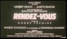 Rendez-Vous Trailer - Juliette Binoche 1985