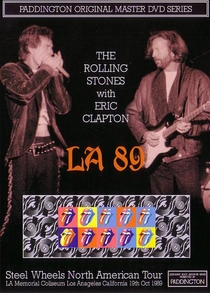 Rolling Stones - Los Angeles 1989 - Poster / Capa / Cartaz - Oficial 1
