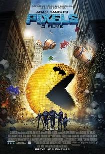 Pixels: O Filme - Poster / Capa / Cartaz - Oficial 3