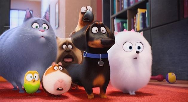 Bilheterias Brasil: a animação Pets conquistou o público e continua líder