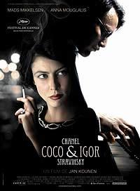Coco Chanel & Igor Stravinsky - Poster / Capa / Cartaz - Oficial 2