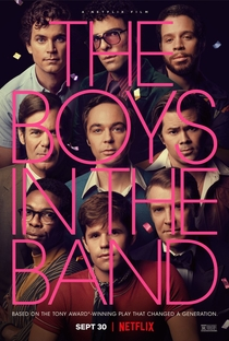 The Boys in the Band - Poster / Capa / Cartaz - Oficial 1