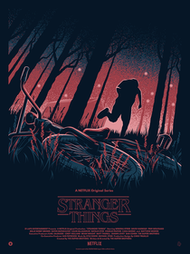 Stranger Things (1ª Temporada) - Poster / Capa / Cartaz - Oficial 12
